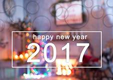 Fond 2017 de bonne année Photo stock