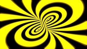 Fond de bouclage sans couture d'animation d'illusion psych?d?lique hypnotique illustration de vecteur