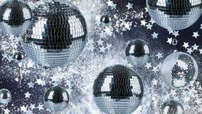 Fond de boules de disco Photo libre de droits
