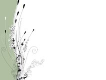 Fond de bouquet de fleur Illustration de Vecteur