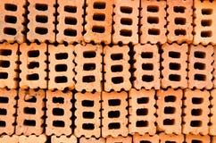 Fond de brique de construction Photographie stock libre de droits