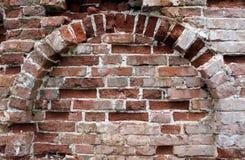 Fond de brique rouge Image stock