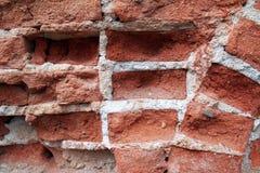 Fond de brique rouge Images libres de droits