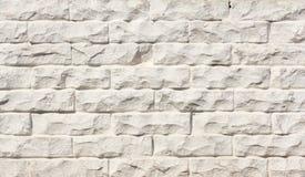 Fond de brique, texture de mur de briques, avec la peinture blanche usée photo stock