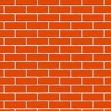 Fond de briques rouges Configuration sans joint Illustration de vecteur illustration de vecteur
