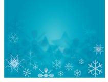 Fond de brochure d'hiver horizontal Image libre de droits