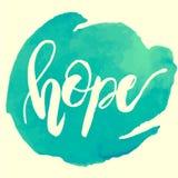 Fond de brosse de main d'espoir Photographie stock libre de droits