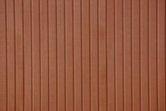 Fond de Brown d'un morceau de clôture de mur de fer Photographie stock libre de droits