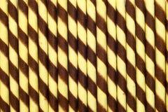 Fond de bâton de petit pain de gaufrette Images libres de droits