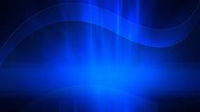 Fond de bureau bleu abstrait Photo stock