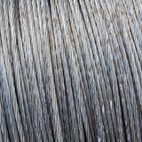 Fond de câble de corde de fil d'acier Images stock
