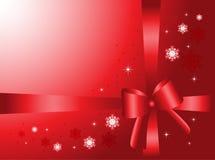 Fond de cadeau de Noël Images stock