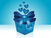 Fond de cadeau de Valentine Photos stock