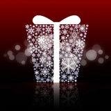 Fond de cadre de cadeau Images stock
