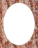 Fond de cadre de cercle avec Rocky Texture Borders Images stock