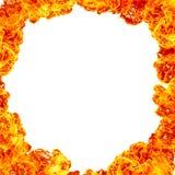 Fond de cadre du feu image stock