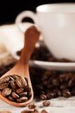Fond de café Photos stock