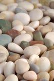 Fond de cailloux de plage Photo libre de droits
