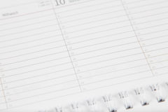 Fond de calendrier Image stock