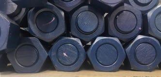 Fond de calibre de boulon de goujon Images stock