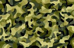 Fond de camouflage Texture verte, brune, noire, olive de forêt de couleurs Camo à la mode de style impression Thème militaire illustration libre de droits