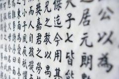Fond de caractère chinois photographie stock libre de droits