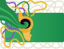 Fond de carnaval de mardi gras illustration de vecteur