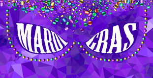 Fond de carnaval de mardi gras Photos stock