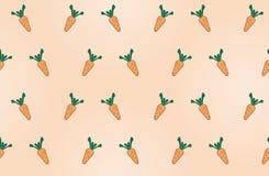Fond de carottes Image libre de droits