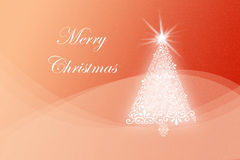 Fond de carte de Noël Image libre de droits