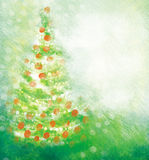 Fond de carte de Noël Images libres de droits