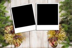 Fond de carte de Noël avec un espace pour le texte Photo libre de droits