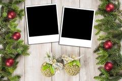 Fond de carte de Noël avec un espace pour le texte Image libre de droits