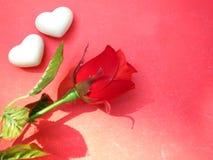 Fond de carte de Valentine Image stock