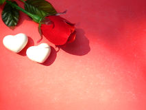 Fond de carte de Valentine Images libres de droits