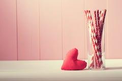 Fond de carte de voeux de jour de valentines Images libres de droits