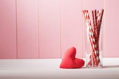 Fond de carte de voeux de jour de valentines Photo libre de droits
