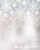 Fond de carte de voeux de Noël Image libre de droits