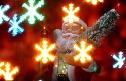 Fond de carte du ` s de nouvelle année avec Santa Claus illustration libre de droits