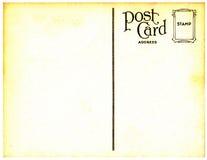 Fond de carte postale de cru Photos libres de droits