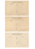 Fond de carte postale de vintage Images libres de droits