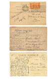 Fond de carte postale de vintage Image libre de droits