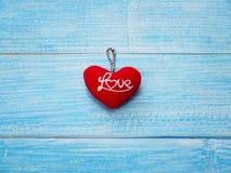 Fond de carte de voeux de jour du ` s de Valentine Image stock