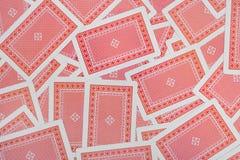 Fond de cartes de jeu Photos stock