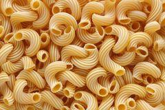 Fond de cavatappi de pâtes Photo stock
