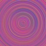 Fond de cercle concentrique - conception abstraite multicolore de vecteur illustration de vecteur