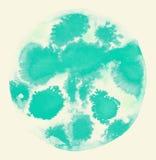 Fond de cercle d'aquarelle Image libre de droits
