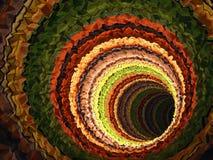 Fond de CG., tunnel triangulé, 3d illustration de vecteur