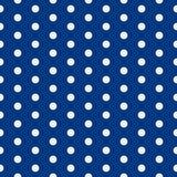 Fond de chéri modèle de point de polka Illustration de vecteur avec de petits cercles Fond pointillé ENV 10 illustration libre de droits