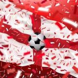 Fond de championnat du monde du football Photos libres de droits
